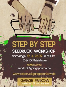 flyer siebdruck workshop_september 15